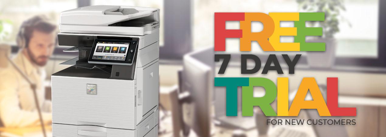 7 Day Free Photocopier Trial!